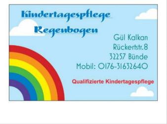 Kindertagespflege Regenbogen  - Tagesmutter in Bünde